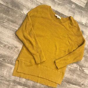 Loft gold sweater